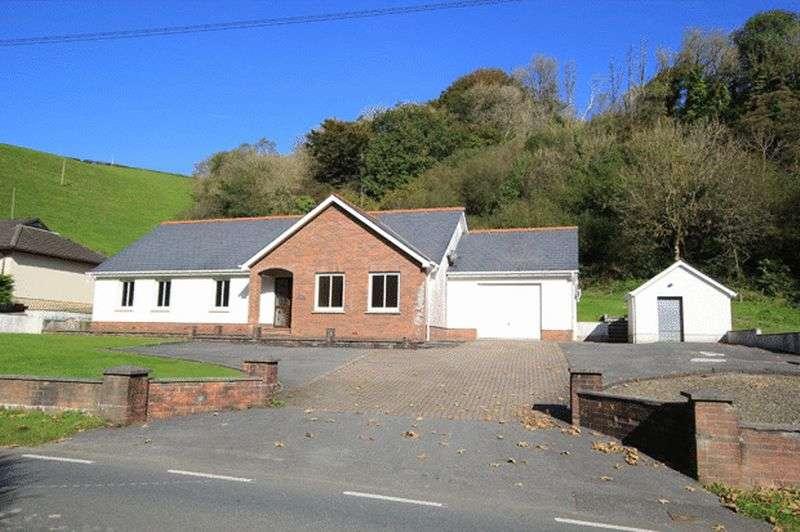 4 Bedrooms Detached Bungalow for sale in Gercoed
