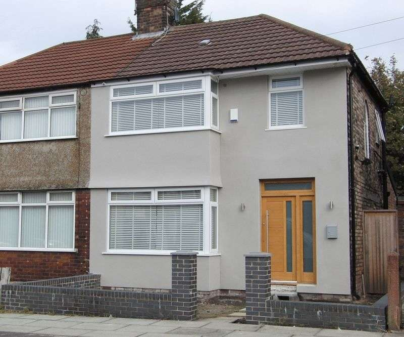 3 Bedrooms Semi Detached House for sale in Renwick Road, Liverpool