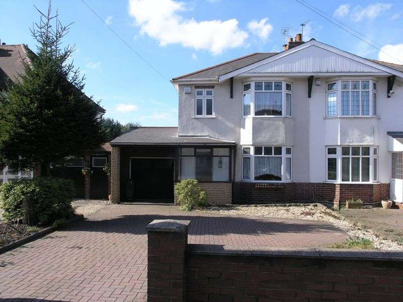 3 Bedrooms Semi Detached House for sale in Dudley Road, Dudley