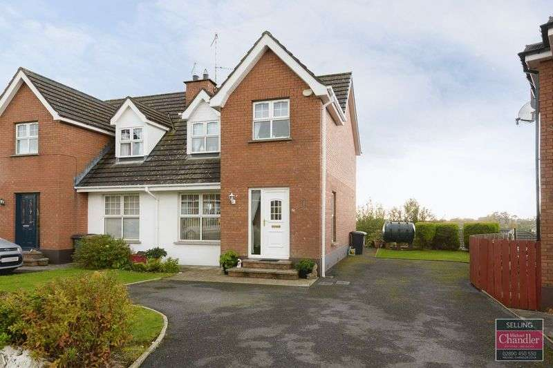 3 Bedrooms Semi Detached House for sale in 66 Ballylenaghan Heights, Belfast, BT8 6WL