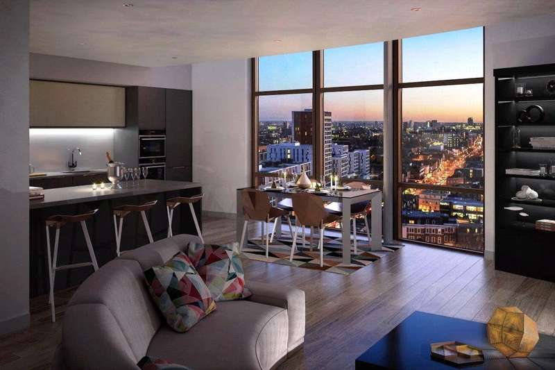 1 Bedroom Flat for sale in Kingsland High Street, Dalston, Hackney, London, E8