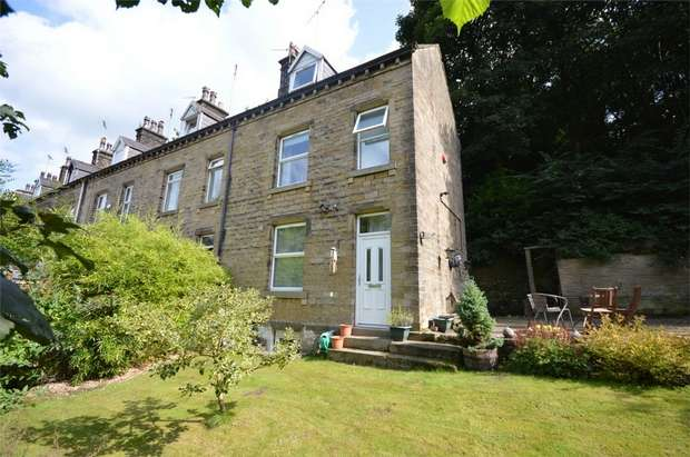 2 Bedrooms End Of Terrace House for sale in Miry Lane, Thongsbridge, HOLMFIRTH, West Yorkshire