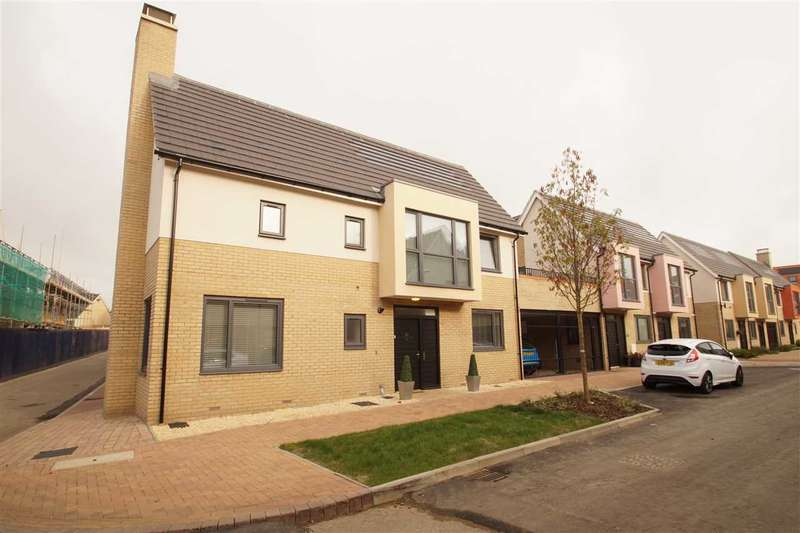3 Bedrooms Detached House for sale in Endeavour Way, Colchester