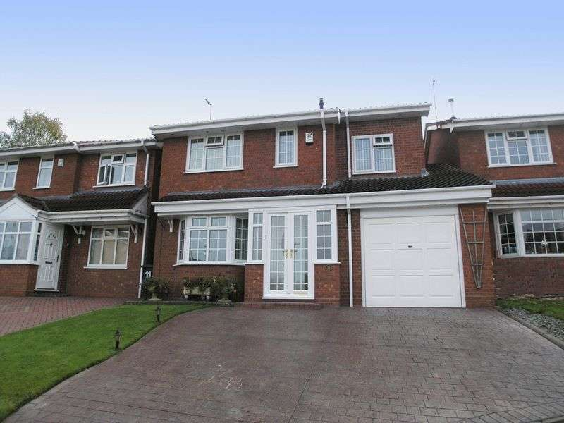 4 Bedrooms Detached House for sale in BRIERLEY HILL, North View Drive