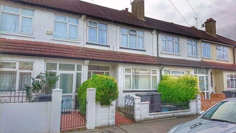 3 Bedrooms Terraced House for sale in Geneva Road, THORNTON HEATH, Surrey