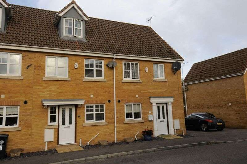 3 Bedrooms Terraced House for sale in Temple Gardens, Rushden