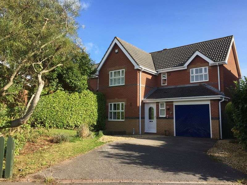 4 Bedrooms Detached House for sale in Llanmead Gardens, Rhoose