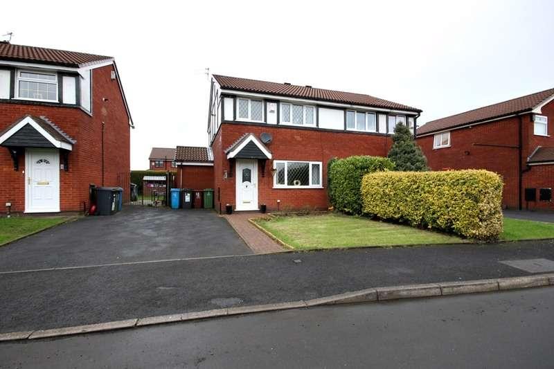 3 Bedrooms Semi Detached House for sale in Alders Court, Oldham, Lancashire, OL8