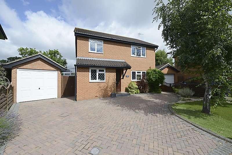 4 Bedrooms Detached House for sale in Plympton Close, Reading, Berkshire, RG6