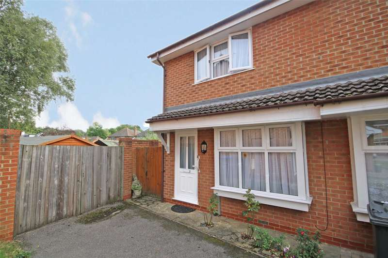 2 Bedrooms End Of Terrace House for sale in Vernon Close, Ottershaw, Chertsey, Surrey, KT16