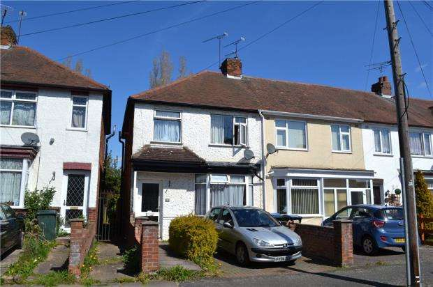 3 Bedrooms End Of Terrace House for sale in Standard Avenue, Tile Hill, Coventry, West Midlands