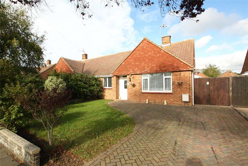 2 Bedrooms Semi Detached Bungalow for sale in Coniston Road, Goring By Sea, West Sussex, BN12