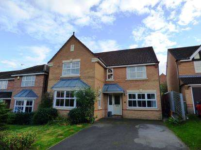 4 Bedrooms Detached House for sale in Cowslip Close, Donisthorpe, Swadlincote