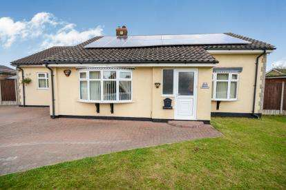3 Bedrooms Bungalow for sale in Sandra Crescent, Washingborough, Lincoln, Lincolnshire
