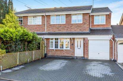 4 Bedrooms Semi Detached House for sale in Greenlea Close, Trentham, Stoke On Trent, Staffordshire