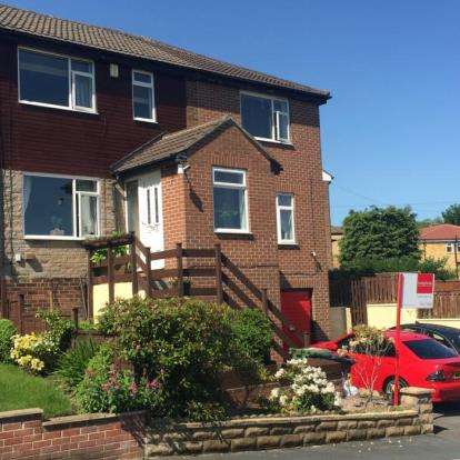 4 Bedrooms Semi Detached House for sale in Wood Hall Drive, Healey, Batley, West Yorkshire