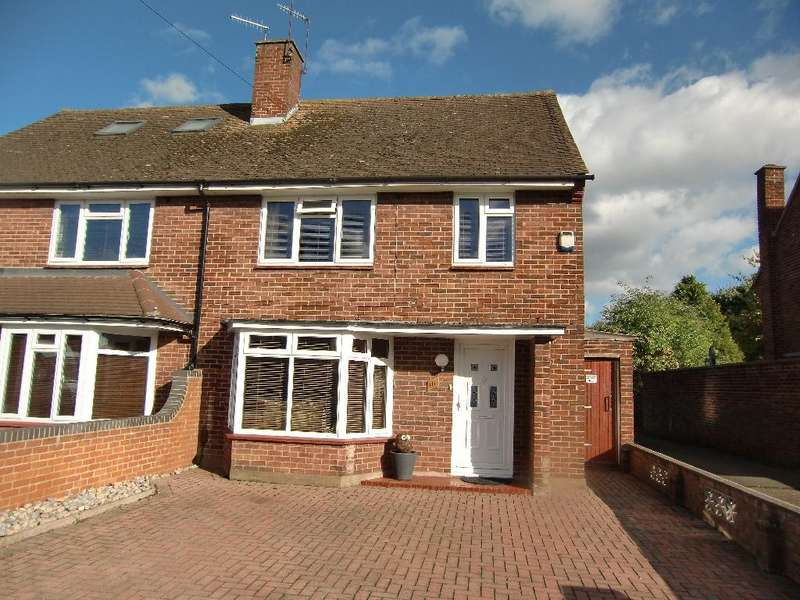 3 Bedrooms Semi Detached House for sale in The Gossamers, Watford, Herts, WD25