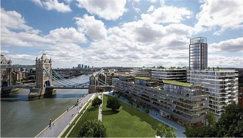 1 Bedroom Property for sale in Cambridge House, London Bridge, London, SE1