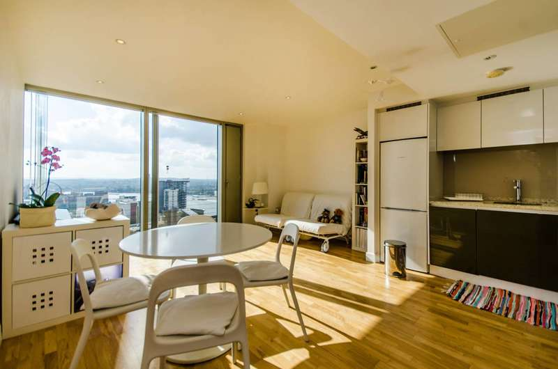 1 Bedroom Flat for sale in Landmark West Tower, Canary Wharf, E14
