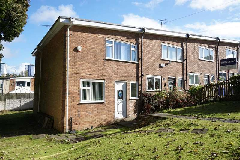 3 Bedrooms Terraced House for sale in Constable Place, Gleadless Valley , Sheffield , S14 1AX