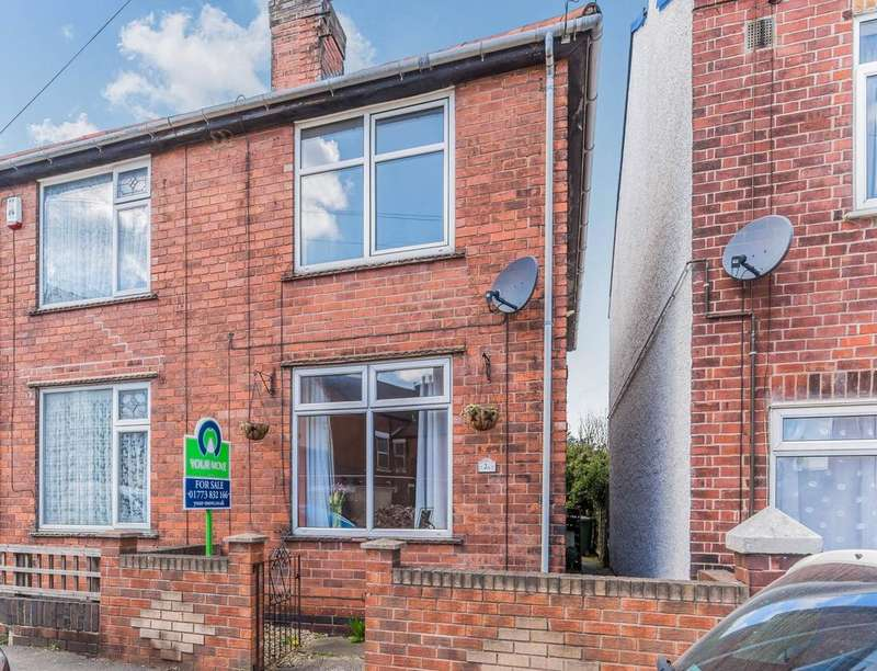 2 Bedrooms Semi Detached House for sale in Parkin Street, Alfreton, DE55