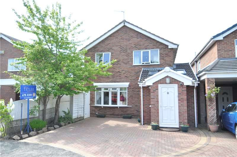 4 Bedrooms Detached House for sale in Cardus Close, Moreton, Wirral
