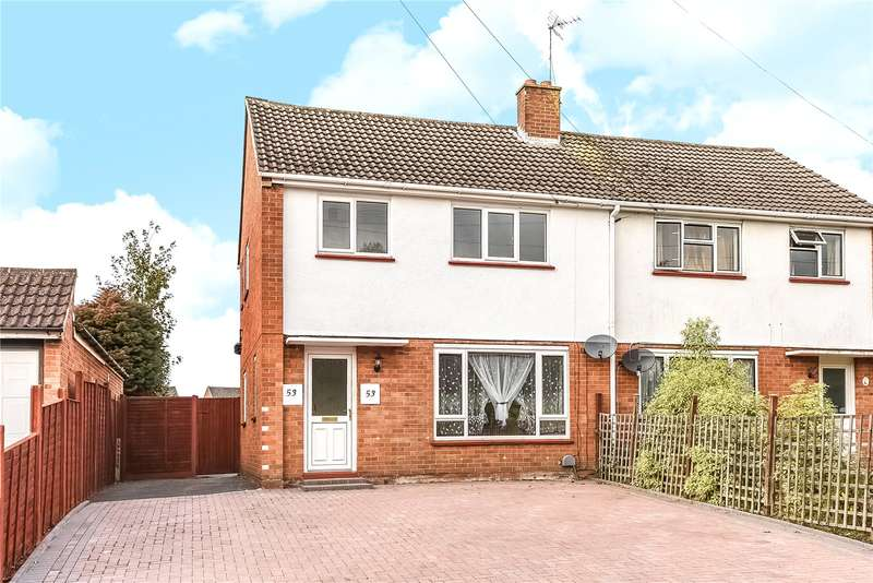 3 Bedrooms Semi Detached House for sale in Kingston Road, Camberley, Surrey, GU15