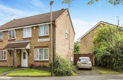 3 Bedrooms Semi Detached House for sale in Larchwood Close, Leicester, Leicestershire