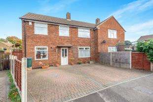 3 Bedrooms Semi Detached House for sale in Boughton Close, Twydall, Gillingham, Kent