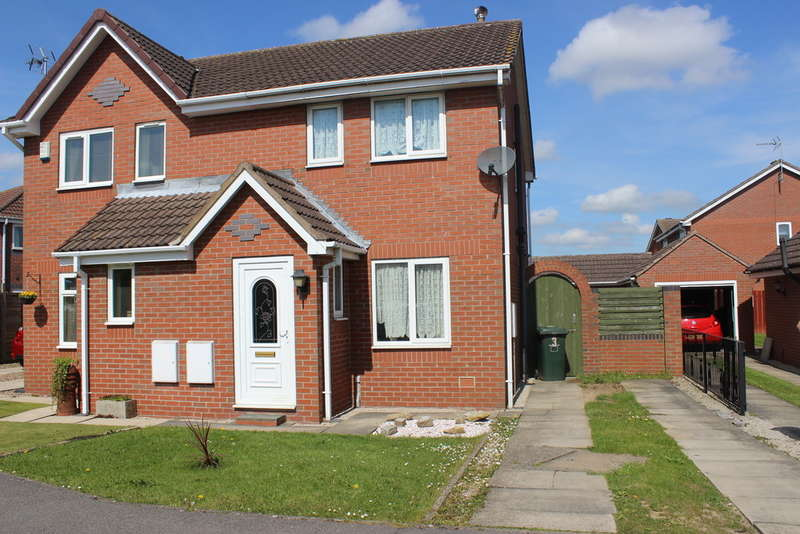 2 Bedrooms Semi Detached House for sale in Woodlands Drive, Barlby, Selby