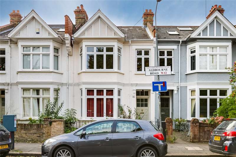 4 Bedrooms Terraced House for sale in Aldbourne Road, London, W12
