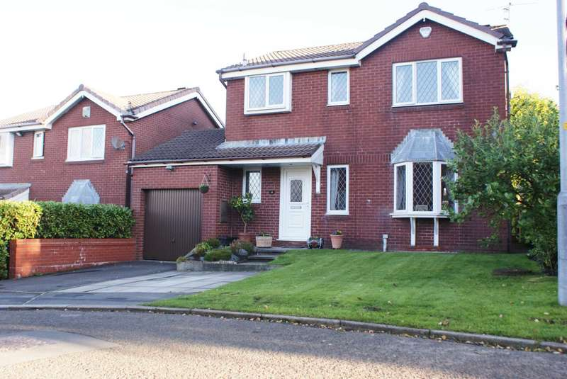 3 Bedrooms Detached House for sale in Ashurst Close, Harwood