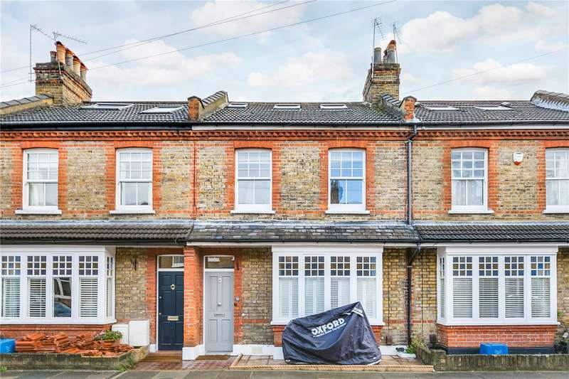 3 Bedrooms Terraced House for sale in Lewin Road, London, SW14