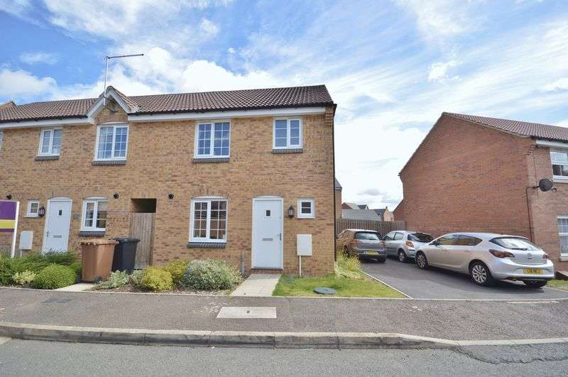 3 Bedrooms Terraced House for sale in Clarendon Close, Little Stanion, Corby