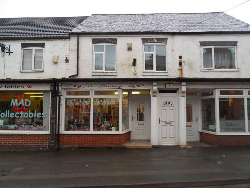 1 Bedroom Property for sale in 115a & 115b Belvoir Road, Coalville