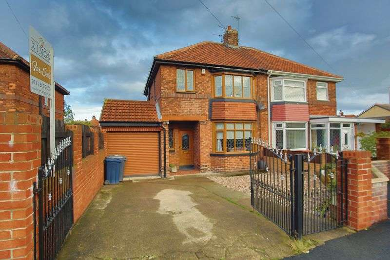 3 Bedrooms Semi Detached House for sale in Harton House Road East, South Shields