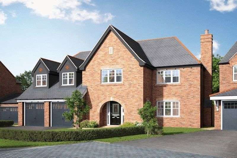 5 Bedrooms Detached House for sale in The Eaton, Stoney Brow, Roby Mill, WN8 0QE