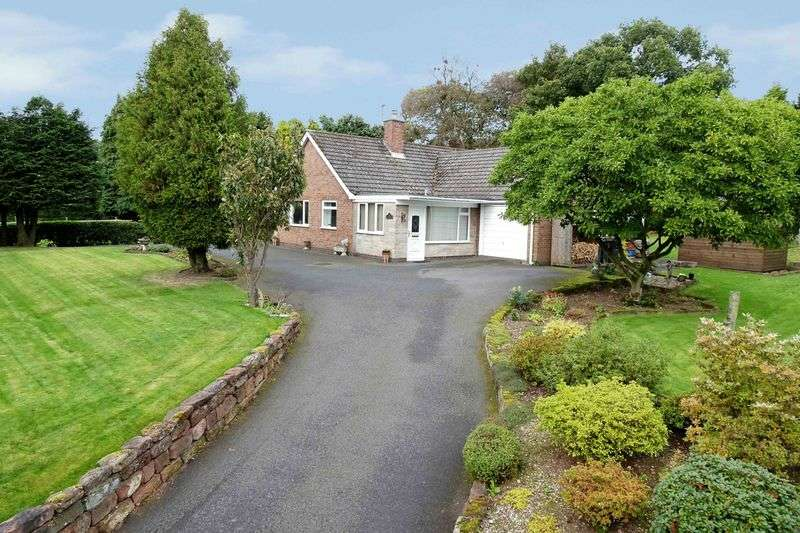 3 Bedrooms Property for sale in Eccleshall Road, Hook Gate, Loggerheads