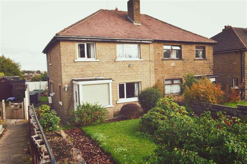 3 Bedrooms Semi Detached House for sale in Sycamore Avenue, Golcar, Huddersfield, HD3 4RY