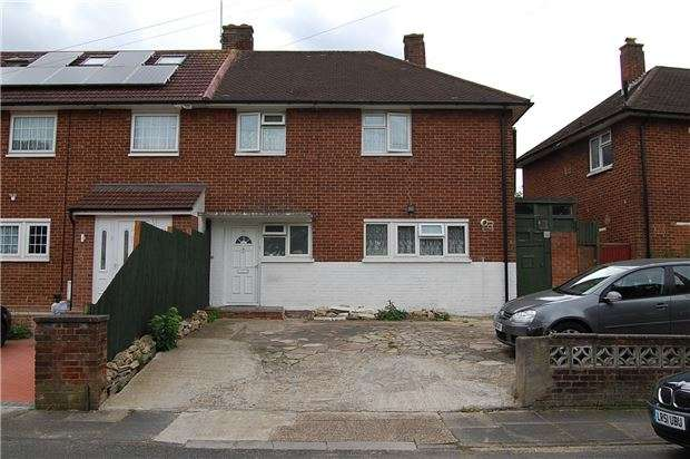 3 Bedrooms Semi Detached House for sale in Maple Grove, KINGSBURY, NW9 8QY