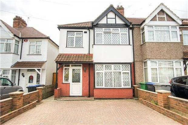 3 Bedrooms End Of Terrace House for sale in Meadowbank Road, KINGSBURY, NW9 8LH
