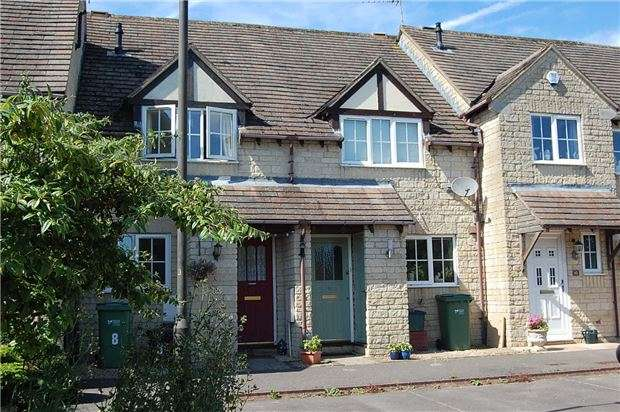 2 Bedrooms Terraced House for sale in Gardiner Close, Chalford, Stroud, Gloucestershire, GL6 8NJ