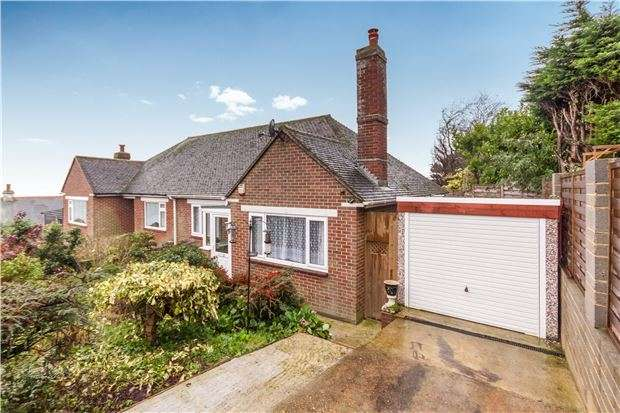 2 Bedrooms Semi Detached Bungalow for sale in 2 Pilot Road, HASTINGS, East Sussex, TN34 2AP