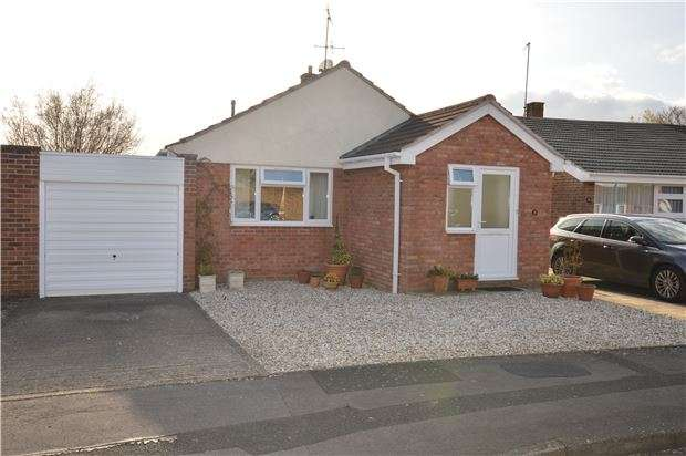 2 Bedrooms Detached Bungalow for sale in Crown Drive, Bishops Cleeve, CHELTENHAM, GL52 8EA