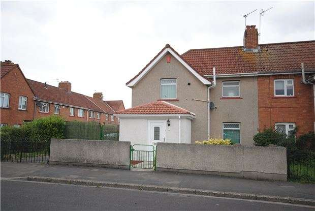 2 Bedrooms Semi Detached House for sale in Padstow Road, Knowle, Bristol, BS4 1EL