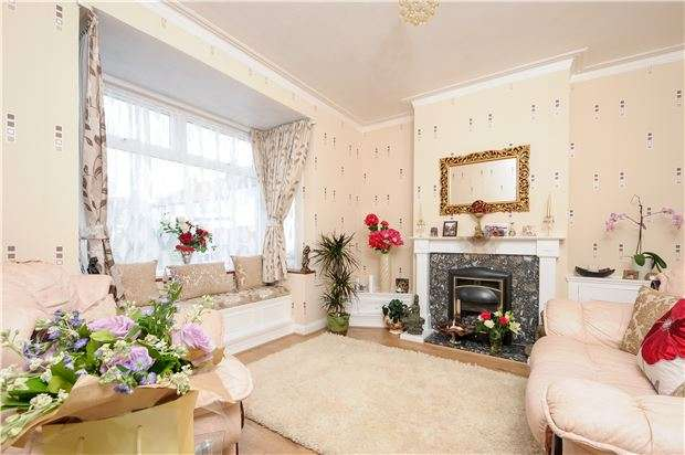 3 Bedrooms Semi Detached House for sale in Hill Road, Mitcham, Surrey, CR4