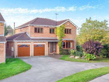 5 Bedrooms Detached House for sale in Purbeck Drive, West Bridgford, Nottingham, Nottinghamshire