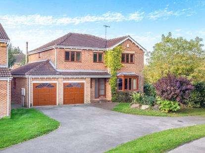 5 Bedrooms Detached House for sale in Purbeck Drive, West Bridgford, Nottingham, Nottinghamshire
