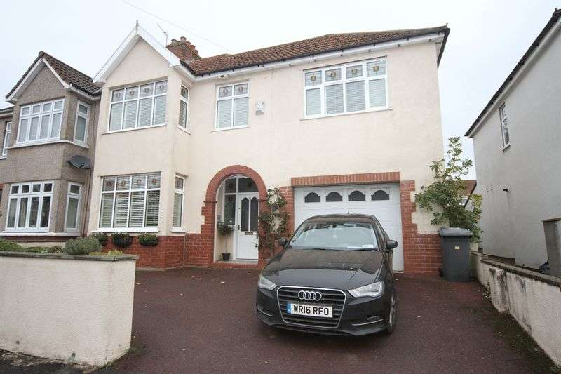 4 Bedrooms Semi Detached House for sale in Central Avenue, Bristol