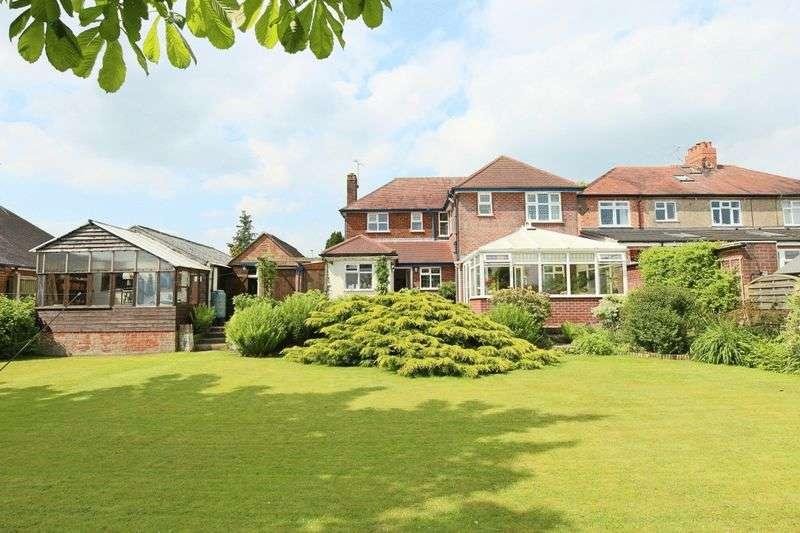 4 Bedrooms Detached House for sale in Crewe Road, Willaston, Nantwich